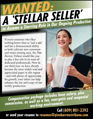Wanted: A 'Stellar Seller'