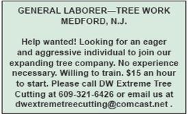 General Laborer - Tree Work